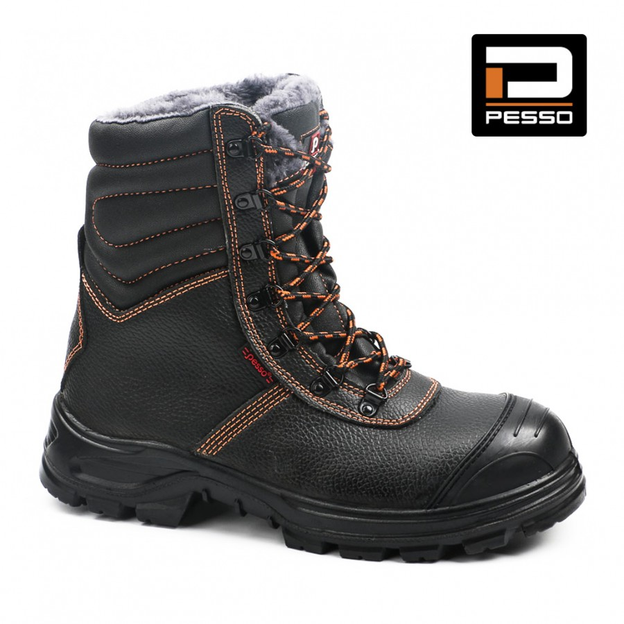 Safety Leather Shoes S3 Kevlar Pesso BS659