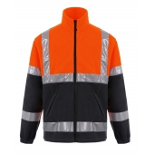 High visibility sweater Pesso Fleece FL01O