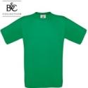 Short-sleeved T-shirt B&C 190, green bottle