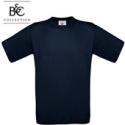 Short-sleeved T-shirt B&C 190, navy