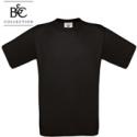 Short-sleeved T-shirt B&C Exact 190, black