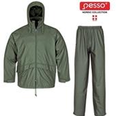 Костюм против дождя Pesso 801 + 802, зелёный