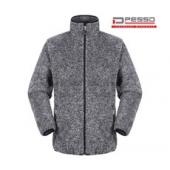 Джемпер из ткани Fleece с капюшоном, Pesso Wear