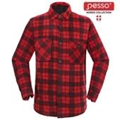 Рубашкa Fleece Pesso, клетчатые