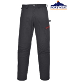 Рабочие брюки Portwest TX61, чёрныe