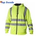 High Visibility Hoodie 4429 Top Swede, yellow
