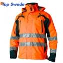 HI-VIS Safety Shell Jacket Top Swede 5217, orange