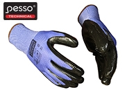 Working Gloves nitrile-dipped Pesso GRIP