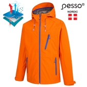 Rain Jacket Pesso Bonna, orange