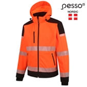 Softshell Jacket Pesso Palermo HI-VIS, orange