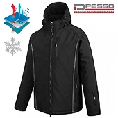 SoftShell Winter Jacket Georgia, black