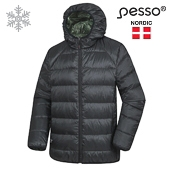 Two side zip jacket with duck down Pesso Karlstad