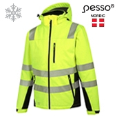 Softshell Jacket Pesso Calgary HI-VIS, orange