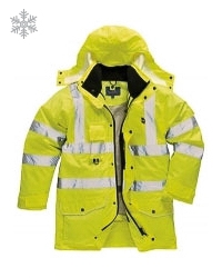 High Visibility Jacket Portwest S427 7 in 1