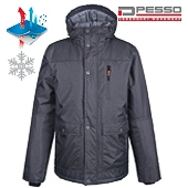 Waterproof Winter Jacket Pesso Tampere, black