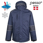 Waterproof Winter Jacket Pesso Tampere, grey