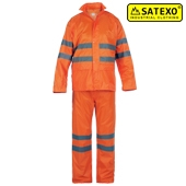 Long raincoat HI-VIS Satexo