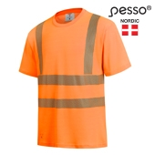 High Visibility T-Shirt Pesso HVM, yellow