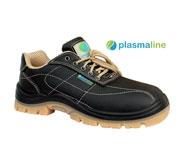 Кожаные рабочие ботинки PlasmaLine S3 / Пластик + Kevlar