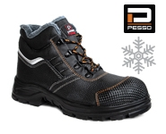 Safety leather shoes S3 Kevlar Pesso Arctic