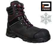 Safety leather shoes Pesso S3