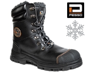 Safety leather shoes S3 Kevlar Pesso Polaris