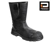 Кожаные сапоги Pesso BSS2 S3 Kevlar