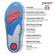Trimmable gel insole Pesso Gel Comfort