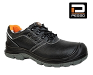 Safety leather shoes Tongue S3