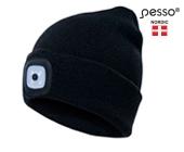 Hat Pesso Kansas, black