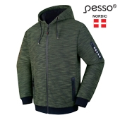 Hoodie Pesso Forest, army green