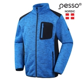 Fleece Sweater Pesso Florence, blue  | Pesso workwear | pessosafety.eu
