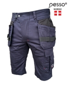 Workwear shorts Pesso Stretch 215, navy | darborubai.lt