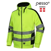 High Visibility Hoodie Pesso FL03, yellow