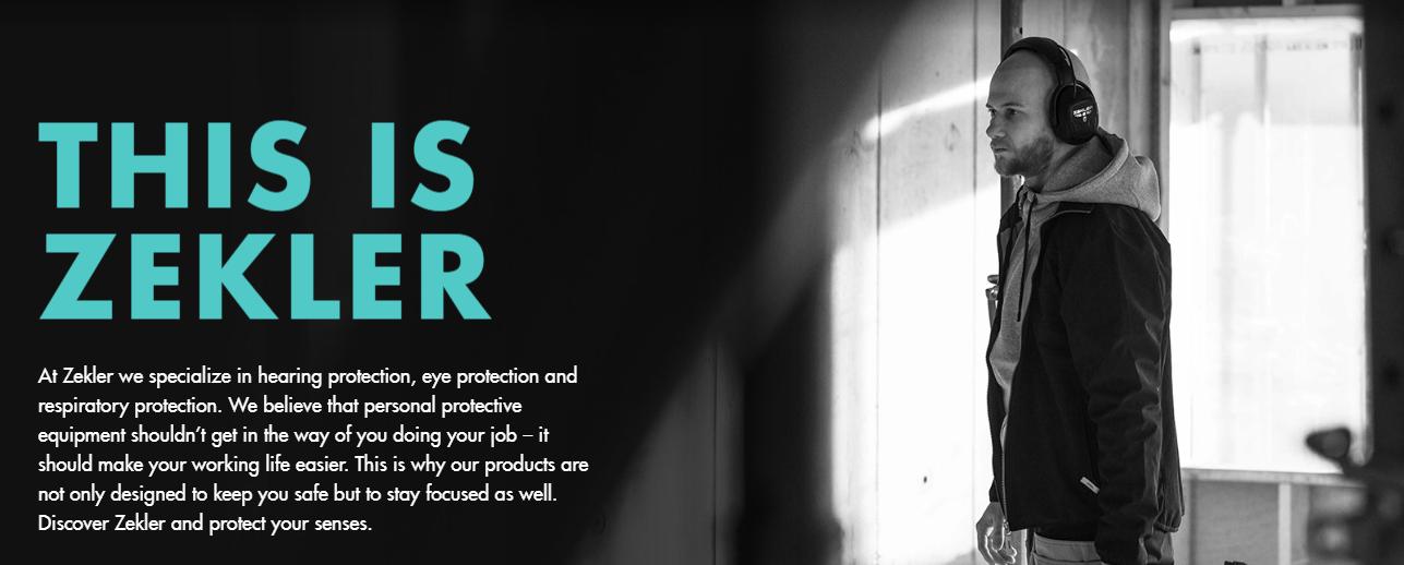 ZEKLER  proteck your sencses asmeninės apsaugos priemonės